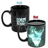 Harry Potter Officially Licensed Merchandise - Patronus Heat Changing Ceramic Coffee Mug 10oz
