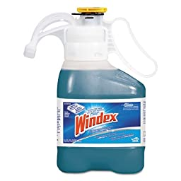 Windex Ultra Concentrated Multi-Surface Cleaner with Ammonia-D, 1.4 L Bottle (1 Bottle) - BMC-DVO 95766540EA