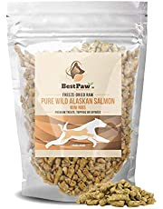 Salmon Raw Mini Nibs Treats Toppers for Dogs and Cats