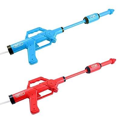 Water Cola Fight Blaster Super Soaker Gun Fits Screw Top Bottles Toys: Toys & Games