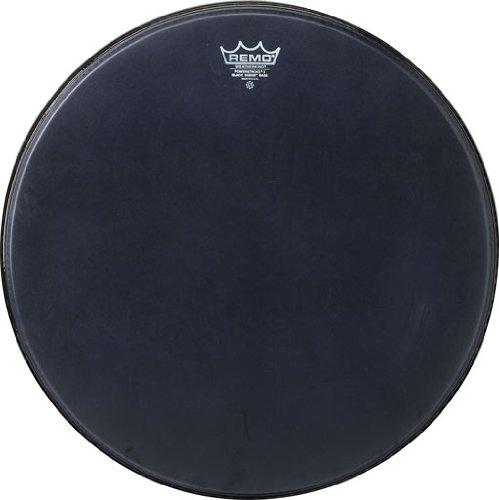 Remo Powerstroke P3 Black Suede Bass Drumhead, 22