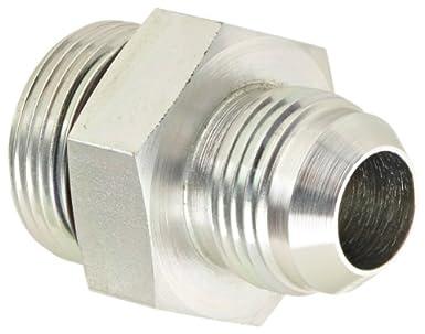 Adapter 1//4 Male JIC x 1//4 O-Ring Boss Male Eaton Aeroquip 202702-4-4S Steel Flared Tube Fitting