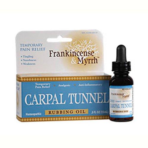 Carpal Tunnel Rubbing Oil 0.5 fl Ounce Liquid