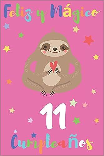 Feliz y Mágico 11 Cumpleaños: Regalo para Niños o Niñas de ...