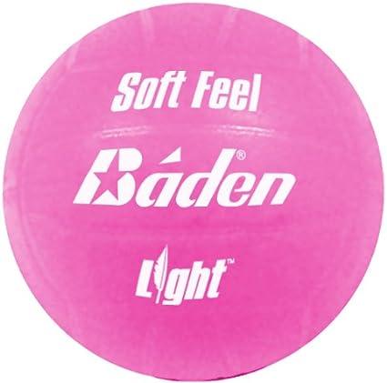 Baden Soft Feel - Pelota de Voleibol, tamaño 5, Color Rosa: Amazon ...