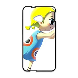 HTC One M7 Cell Phone Case Black_The Legend of Zelda The Wind Waker Aryll_006 FY1453181