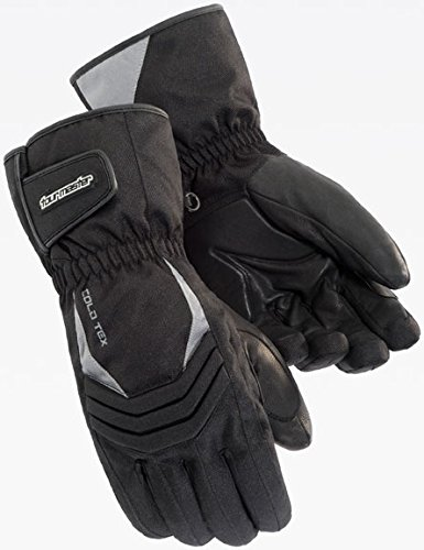 Tourmaster Mens Cold-Tex 2.0 Black Gloves - X-Small