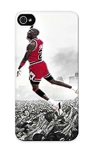 Blackducks Durable Men Jordan Basketball Michael Jordan Back Case/ Cover Case For Ipod Touch 4 Cover For Christmas