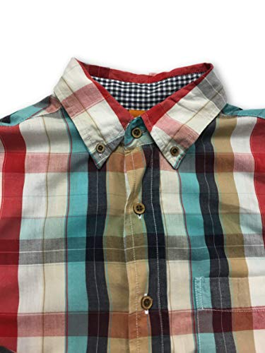 Vintage M Shirt Size Cotton In Tailor Red 0wdTy1xq