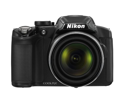 Nikon COOLPIX P510 16.1 MP CMOS Digital Camera with 42x Zoom NIKKOR ED Glass Lens and GPS Record Location (Black) (OLD MODEL) by Nikon