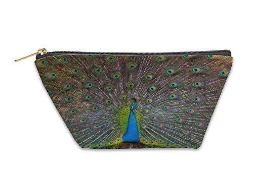 Gear New Accessory Zipper Pouch, Peacock In The Wild On The Island, Small, 6001693GN by Gear New