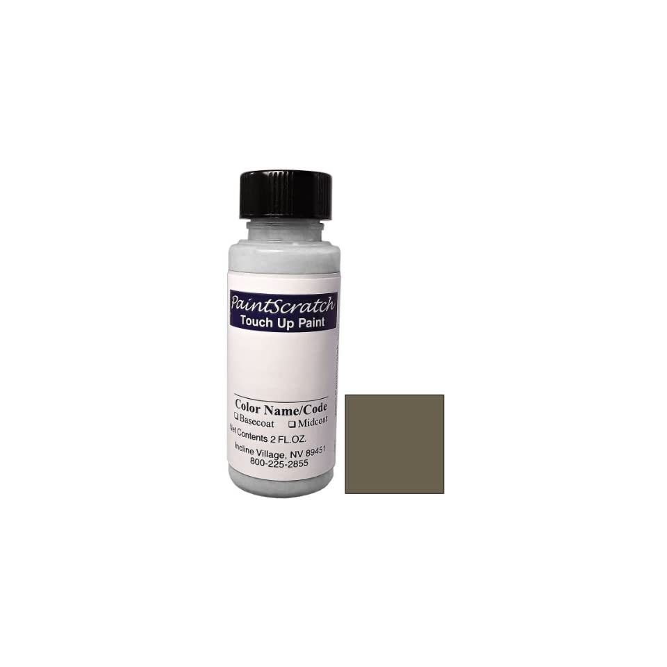 2 Oz. Bottle of Citrine Brown Metallic Touch Up Paint for 2012 Mercedes Benz M Class (color code 796/8796) and Clearcoat