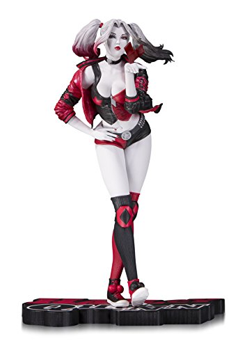 DC Collectibles Red White & Black: Harley Quinn by Stanley Artgerm Lau Resin Statue (Statue Resin Anime Figure)
