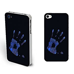 Mobile Phone Cases Personalized Skull Design Cool Skeleton Iphone 4,4s Hard Plastic Back Case Cover Skin for Guys (skull hand BY423)