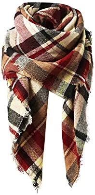 Trendy Blanket Stylish Checked Scarves product image