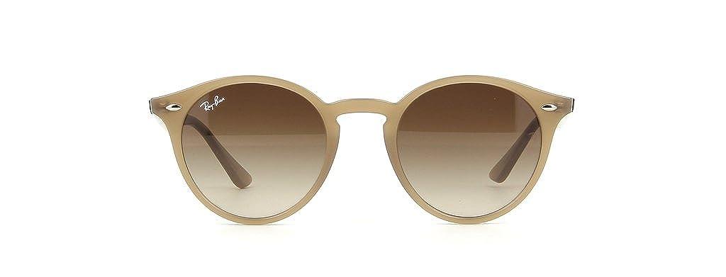 fc38c4b8786 Amazon.com  Ray Ban RB2180 616613 51mm Turtledove Round Sunglasses Bundle -  2 Items  Clothing