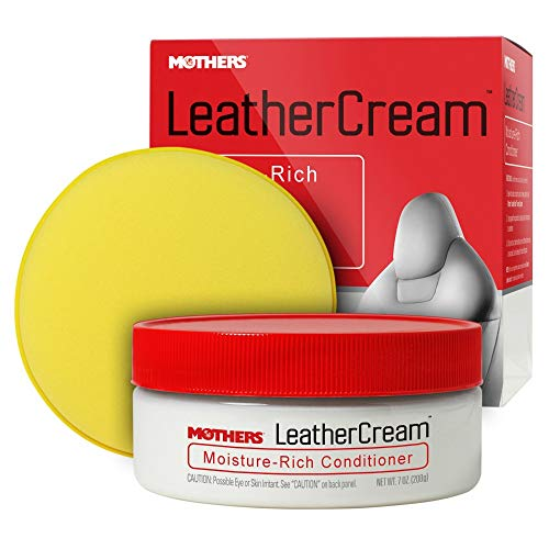 Mothers 06310 Leather Tech Moisture Infusion Gel Cream 7oz, 7. Fluid_Ounces - Mothers Leather Conditioner