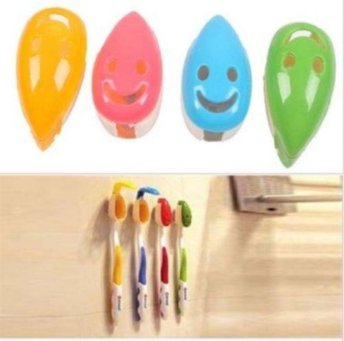 OrangeTag Antibacterial Toothbrush Holder Suction