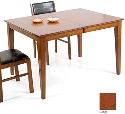 Tavolo Color Ciliegio Allungabile.Tavolo Allungabile In Legno Colore Ciliegio Cm 90 X 120 150