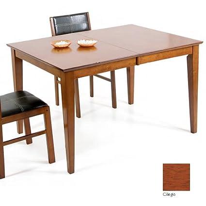 Tavolo Allungabile Color Ciliegio.Tavolo Allungabile In Legno Colore Ciliegio Cm 90 X 120 150