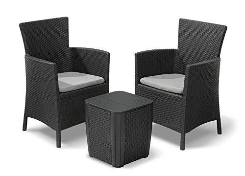 Keter Iowa Outdoor Furniture Balcony Set