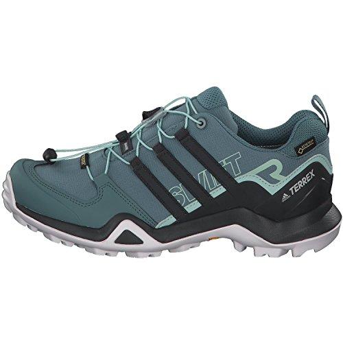 adidas donne terrex swift r2 gtx tracce scarpe verdi raw