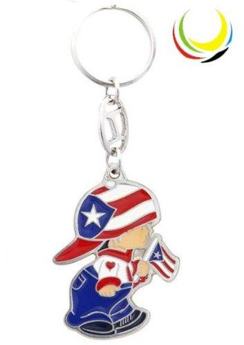 Keychain - PUERTO RICO BOY-
