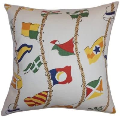 Ginger The Pillow Collection Ilona Geometric Pillow