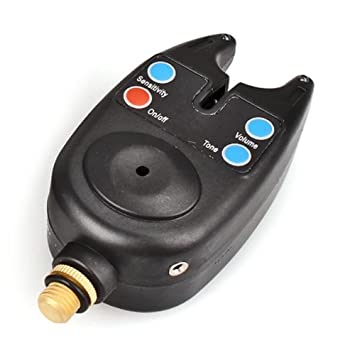 TOOGOO (R) Alarma Detector Avisador de Picada Pez para Cana de Pescar Pesca con LED Sonido: Amazon.es: Deportes y aire libre