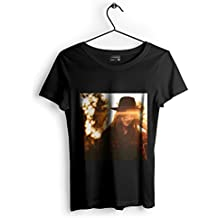 Westlake Art - Unisex T-shirt - Girl Light - Graphic Tee - Black Adult Medium (e3t ad6 7b7)