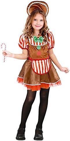 Partilandia Disfraz Muñeca Ginger Navidad para niña 7-9 años ...