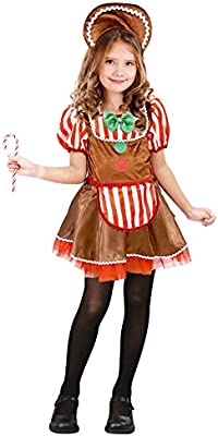 Partilandia Disfraz Muñeca Ginger Navidad para niña 4-6 años ...