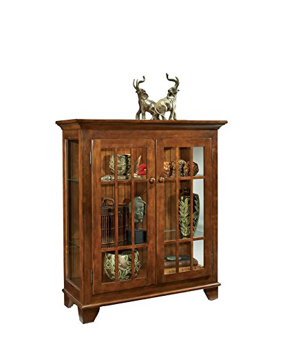 Console Curio Color - Philip Reinisch Co. Color Time Barlow Display Console, Chestnut Cabinet, Chestnut Finish