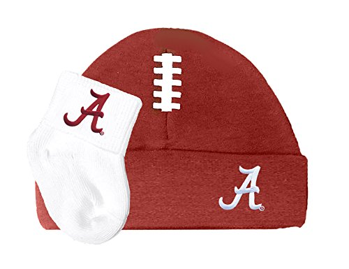Future Tailgater Alabama Crimson Tide Baby Football Cap and Socks