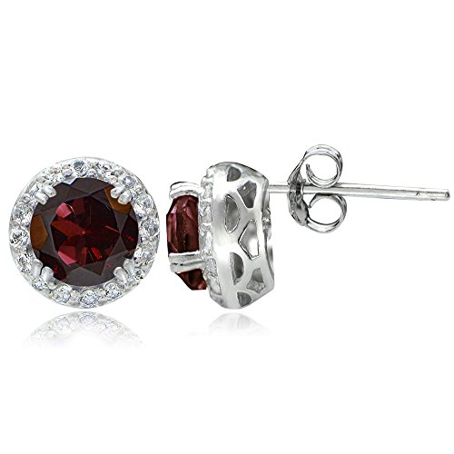 Sterling Silver Gemstone White Earrings product image