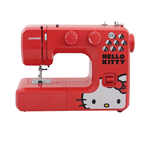 SYS Score: 8.0 | Janome 13512 Red Hello Kitty Sewing Machine