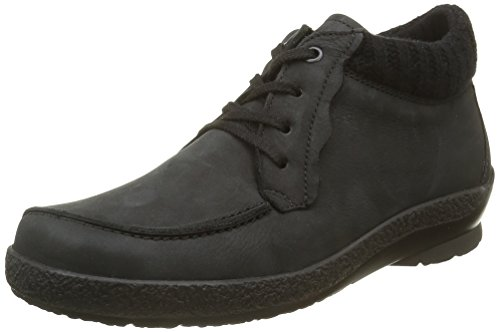 Berkemann Romi, Zapatos De Cordones Derby para Mujer Negro - Schwarz (Schwarz 910)
