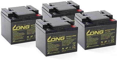 Ersatz-Akkus Batterien für Elektro Scooter Razor E300 2 x 12V 9Ah Blei AGM