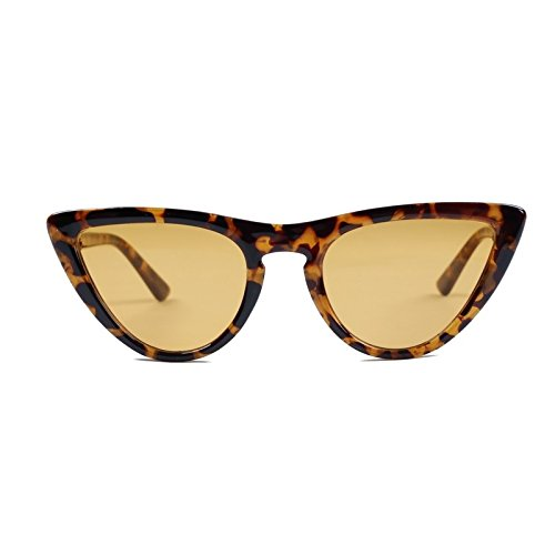 Mujer C2 Limotai Gafas Sunglasses Mujer Lente C3 Fiesta De Shopping Eyes Gafas para Blue Turismo Lens Cat Solretro T amarilla para Show Conducción Gafas ggwp6S