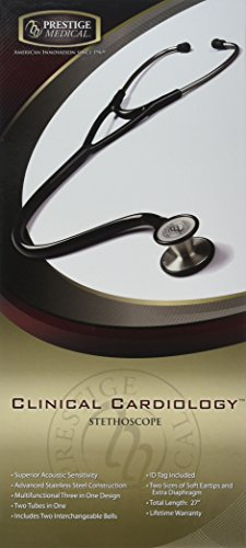 Prestige Medical Clinical Cardiology Stethoscope, Stealth