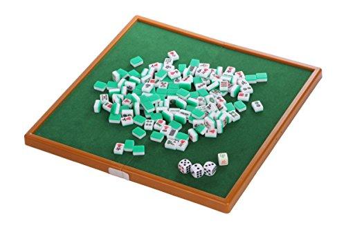 おもちゃの神様 ミニ麻雀 32×32cm どこでも遊べる 折り畳み で コンパクト 収納