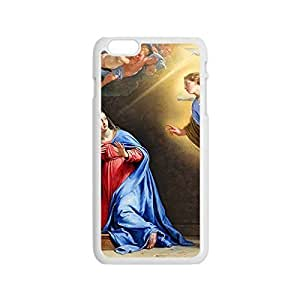 Back PC Case Virgin Mary Christian and Child Baby Jesus Protective PC Case for iphone 6 4.7