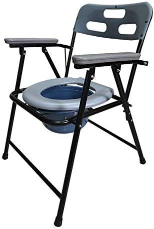 妊婦や障害者浴室のベッド用折りたたみベッドサイド便器椅子高齢者のトイレ椅子便器バケットトイレスツール