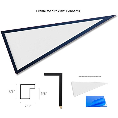 Pennant Frame for 13x32 Inch Pennants -