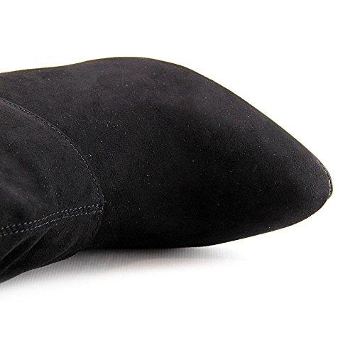 Nina Boot 39 Black 5 EU the US 5 Kymari 9 Women Knee Over 1qr41R