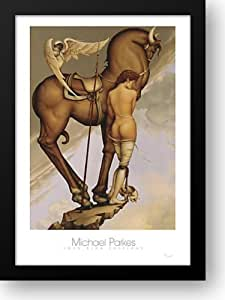 Amazon Com Athena 28x38 Framed Art Print By Parkes