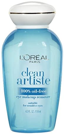 L'Oreal Paris Skin Care Clean Artiste Oil Free Eye Makeup Remover, 2 Count L' Oreal - Skincare 071249078525