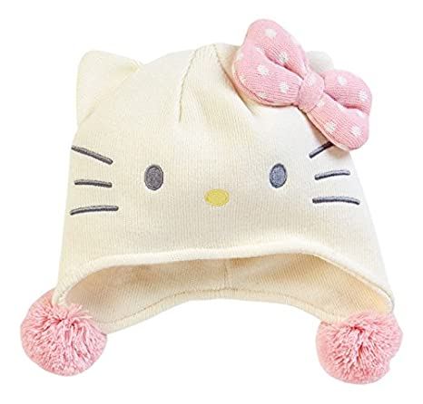 Image Unavailable. Image not available for. Color  Hello Kitty Sanrio Japan  Knit Pilot Hat ... f0106be1f0c