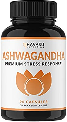 Premium Ashwagandha 1000mg - Natural & Healthy Stress Support & Mood Enhancer Support - Artichoke For Enhanced Benefits - Immune, Energy & Thyroid Support, 90 Count