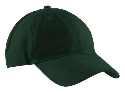 Port & Company Brushed Twill, Low Profile Cap, Hunter, One ()
